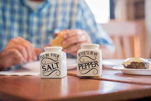 Dinner, Burger, Salt And Pepper, Meal, Lunch