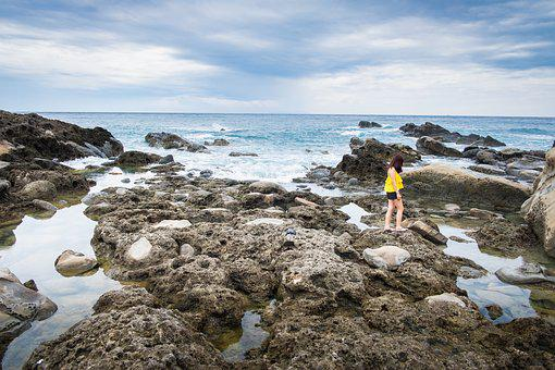 Taiwan, Ono Willow, Rock, Sea, Water, A Surname