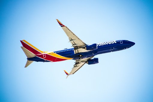 Aircraft, Travel, Fly, Sky, Holiday, Holidays, Blue