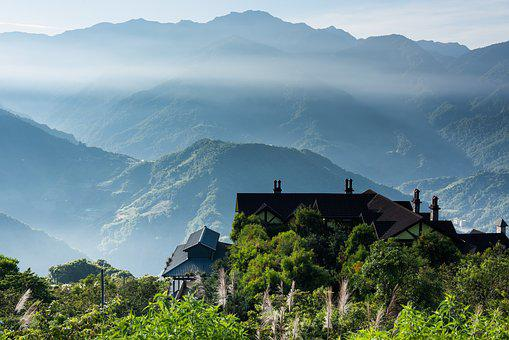 Taiwan, Chingjing, Morning, A Surname, Kasumi, Mist