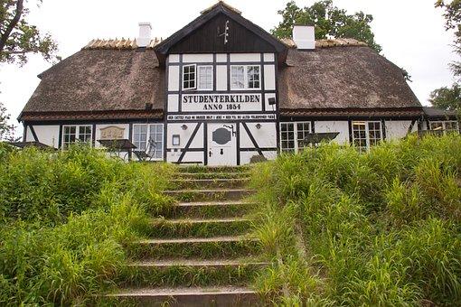 Restaurant, Studenterkilden, The Hill, Staircase, Kro