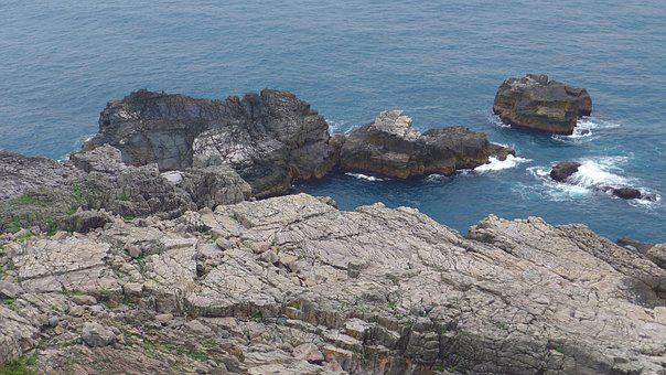 Rocky Shore, Landscape, Taiwan, Watching, Trip, Pacific