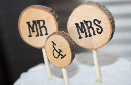 Wedding Reception, Wedding, Cake, Cake Topper, Mr Mrs