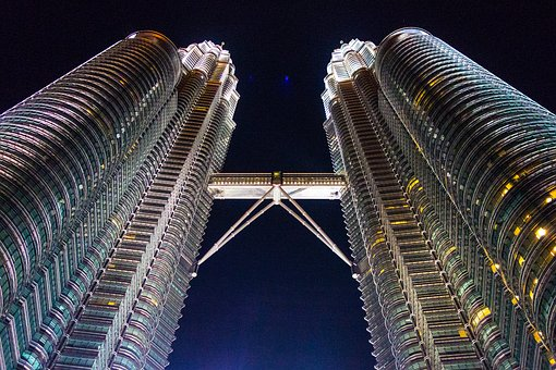 Kuala Lumpur, Towers, Petronas, Malaysia, City