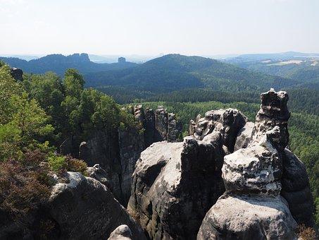 Elbe Sandstone, Long Horn, Monkey Stones, Hike
