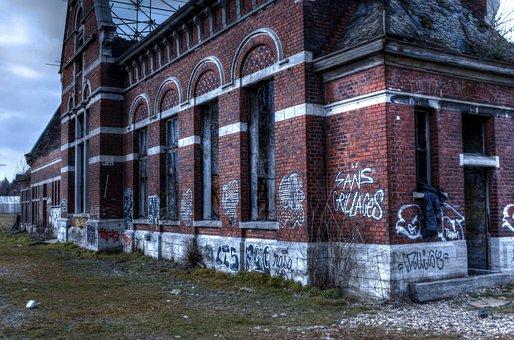 Urbex, Urban, Exploration, Brussels, Dilapidated