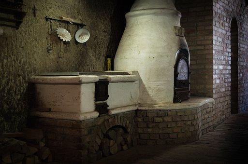 Eger, Szepasszonyvolgy, Cellar, Furnace, Brick, Vinery