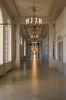 Walkway, Interior, Indoor, Hall, Corridor, Building