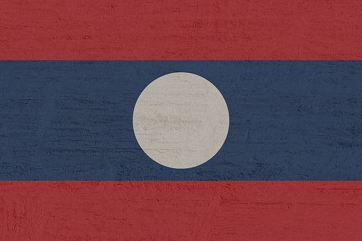 Laos, Flag, South East Asia