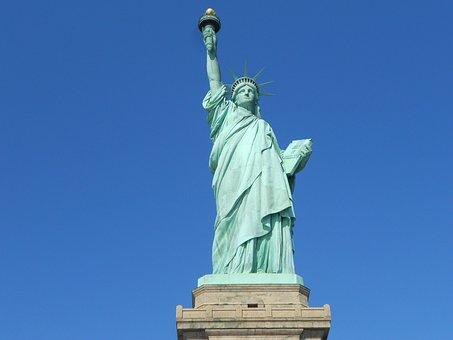 Statue Of Liberty, New York, Usa, America