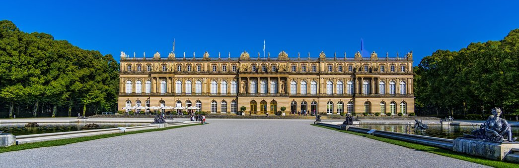 Herrenchiemsee, Castle, Bavaria, Places Of Interest