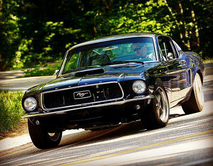 Classic Mustang, Mustang Fastback, Resto Mod