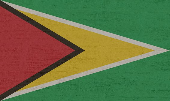 Guyana, Flag, South America