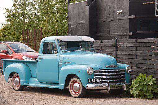 Vintage Car, Cutaway Van Chassis, Transport