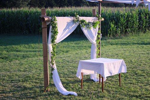 Altar, Wedding, Wedding Altar, Marriage, Connectedness