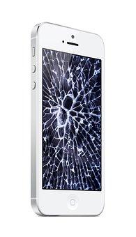 Iphone, Broken Screen, Broken, Mobile, Screen