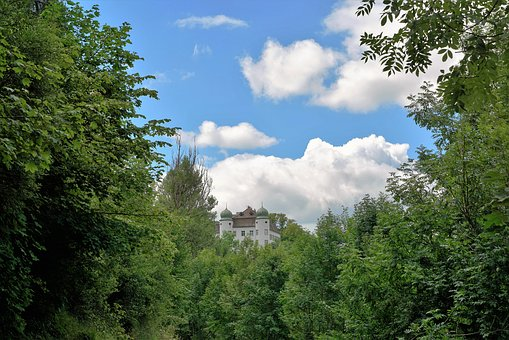 Castle, Fairy Tales, Village, City, Forest, Tower