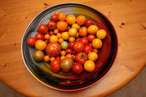 Tomatoes, Barrel, Colors