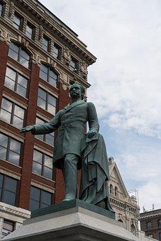 Statue, Bronze, Confederate