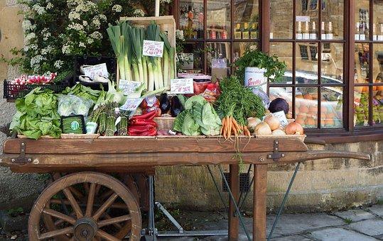 Fruit, Stall, Vegetables, Market, Food, Fresh, Organic