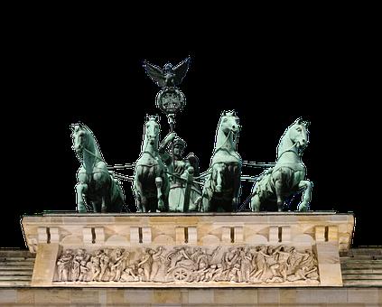 Germany, The Brandenburg Gate, Monument, Berlin