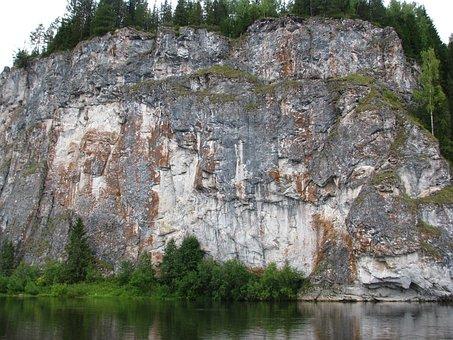 R, Vishera, Group, Perm Krai River, Landscape, Nature