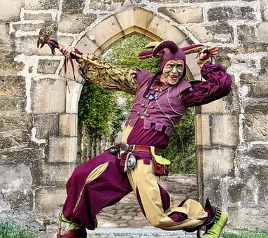 Castle, Middle Ages, Jester, Medieval, History