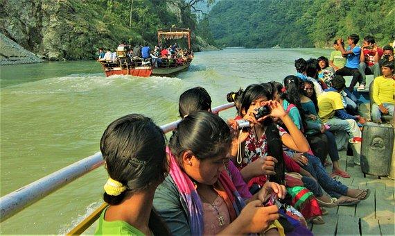 Kaligandaki, Stimar, Rafting, River Of Nepal, Boating