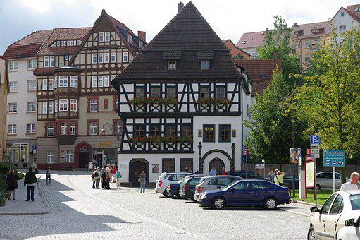Eisenach, Old Town, Luther House
