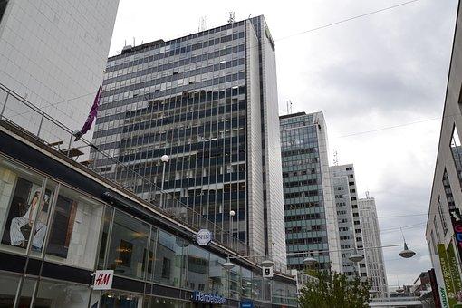 Sverige, Sweden, Stockholm, Building, Modern Building