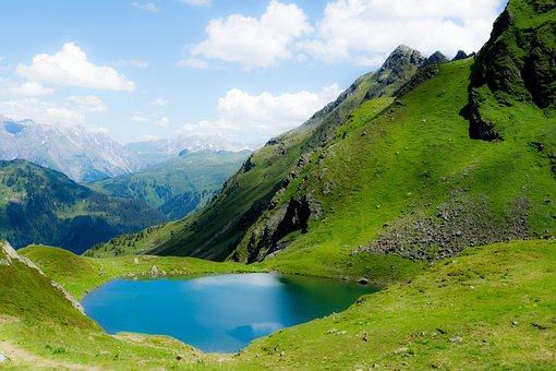 Hochjoch, Montafon, Distant, Alpine, Summit