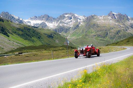 Silvretta Classic Montafon Rally, Mountain Landscape