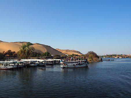 The Nile, Egypt, Aswan, Luxor, Nubian Village