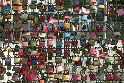 Love Locks, Castles, Fence, Love, Padlocks, Love Symbol