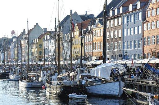 Copenhagen, New Port, Port, Ships