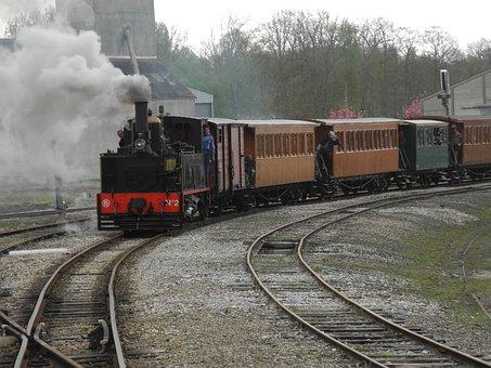 Steam Train, Smoke, Locomotive, Steam Locomotive