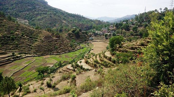 Indian Village, Hills, Nature, Travel, Scene, Valley