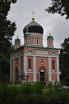 Alexander-newski Memorial Church, Potsdam, Germany