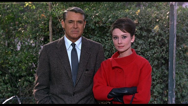 Cary Grant, Audrey Hepburn, 1963, American Movie