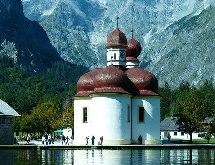 Bartholomä St, King Lake, Berchtesgadener Land