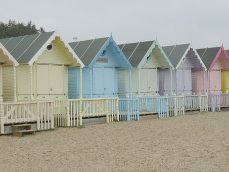 Beach Huts, Beach, Sand, Holiday Homes, Vacation, Sea
