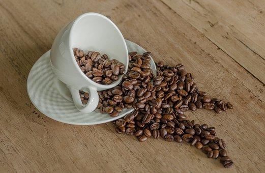 Coffee, Beans, Mug, Coffee Bean, Drink, Beverage