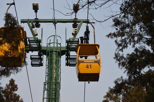 Cable, Car, Gondola, Transport, Passenger, Overhead