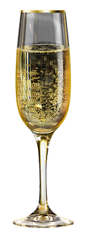 Champagne, New Year's Day, Light Champagne, Glass