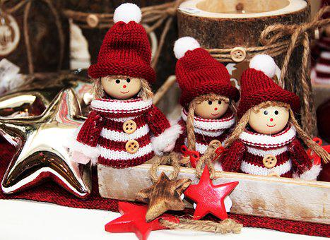 Imp, Christmas Elves, Figures, Christmas Time