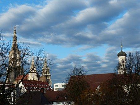 Ulm Cathedral, Münster, Ulm, Building, Church, City