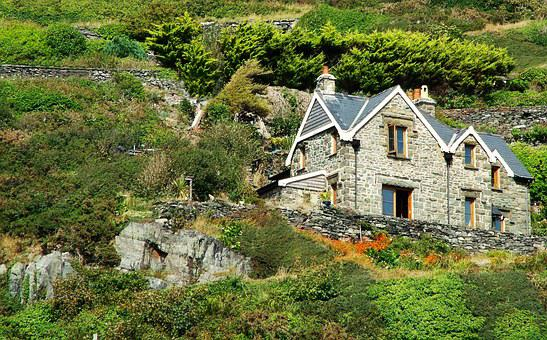 Barmouth, Holiday, Home, Cliff, Hills, View, Beach