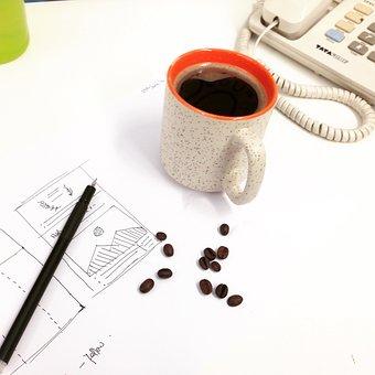 Coffee, Coffee Mug, Coffee Beans, Drink, Beverage