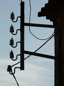 Insulator, Current, Power Line, Strommast, Energy