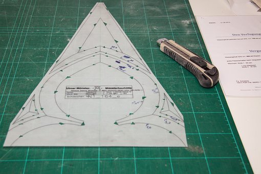 Template, Cut Out Pattern, Cut Contours